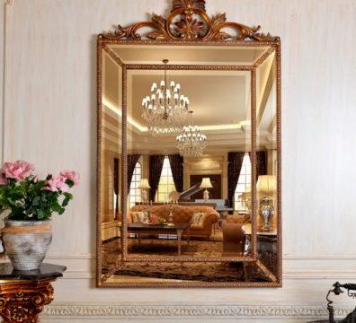 зеркало золото