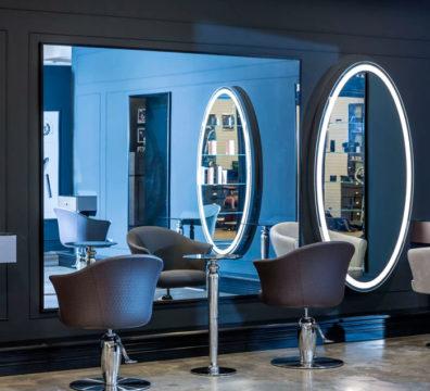 зеркала для парикмахерских